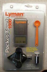 Lyman Pocket Touch Digital Scale Set