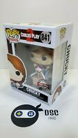 Funko Pop! Movies # 841 Child's Play 2 Chucky With Scissors Special Edition