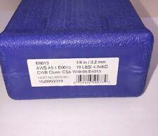 E6013 18 Stick Welding Electrode Mild Steel Rod 10lbs Tube