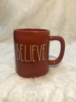 "Rae Dunn New ""Believe"" Ceramic Mug ☕️"