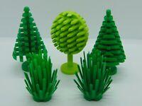 5 x  Genuine Lego  Town / CIty Trees