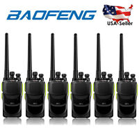6x Baofeng GT-1 UHF 400-470Mhz 5W 16CH Walkie Talkie Two way Radio > BF-888s USA