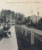 Postcard, 1913 Victoria Ave Edmonton Alberta Canada Vintage P27