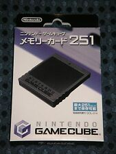 NEW Nintendo Official Authentic GC Memory Card 251 for GameCube MADE IN JAPAN FS