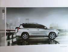 Mint Condition 20-pages  2009 Toyota RAV4 SUV Brochure 09
