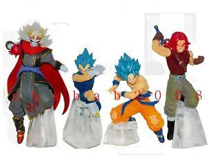 Bandai Dragon ball Z Battle figure series 5 gashapon (full set of 4 figures)