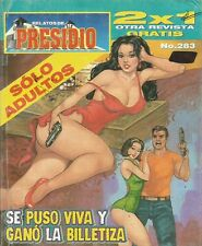 RELATOS DE PRESIDIO MEXICAN COMIC #283 MEXICO SPANISH HISTORIETA 2000 CRIME