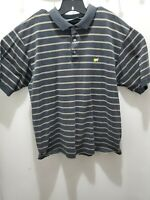 Masters Mens Xl Augusta National Clubhouse Collection Golf Polo Shirt Striped