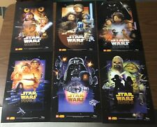 LEGO Star Wars Celebration 2015 POSTER Set of 6 Exclus Episode I II III IV V VI