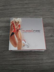 TURBO FIRE INTENSE CARDIO CONDITIONING 13 DISC DVD WORKOUT SERIES SET, COMPLETE!