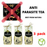 ANTI PARASITE WORMS TEA - Cleanse DETOX Liver Colon Yeast Blood KILL COLON FAST