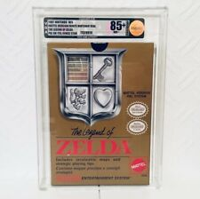The Legend Of Zelda Mattel Ver Graded VGA 85 + Nintendo Nes Sealed Hinge Sticker
