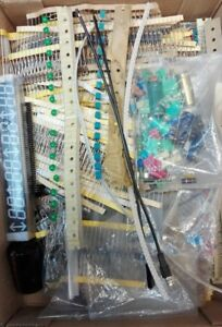Lotto Stock Kit 1000+ Componenti Elettronici Resistenze Transistor integrati LED