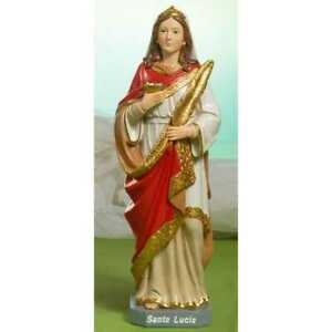 SANTA LUCIA - bellissima statua in resina - altezza cm. 19,5