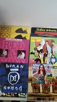 Lot of 12 LP EP Vinyl Records (3 Sealed, 9 Used) Duran Duran, Madonna, B-52's, A