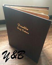 FRANKLIN HALF DOLLAR SET 1948 - 1963 Complete 35 Coins in Dansco ALBUM US SILVER