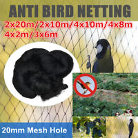 6 Size Anti Bird Crop Net Netting Garden Plant Ponds Fruit Tree Mesh Protection