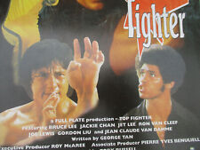 Top Fighter Martial Arts Movie Poster Bruce Lee Lee Jackie Chan MMA 1995