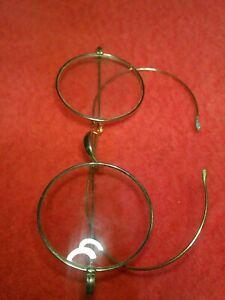 VINTAGE ALGHA Gold Framed Glasses