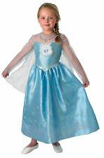 Deluxe Disney Frozen ELSA Fancy Dress Costume, Princess Dress Up - Age 7-8