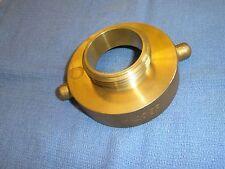 Fire Hose Hydrant Adapter 2 12 Nst Female X 2 Ipt Male Dixon Ha2520t Brass