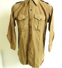 Military WW2 Officers Battle Dress Shirt Green British K.R.R.C Uniform (3743)