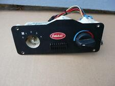 PETERBILT 387  DASH PANEL SLEEPER AC A/C HEATER CONTROL