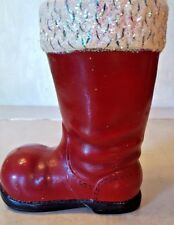 Christopher Radko Red Christmas Boot Decoration Signed by Ino Schaller