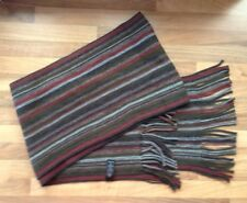 Men's Fashionable Multi colored Scarf (GEORGE) Men's Warm thick Scarve ONE SIZE