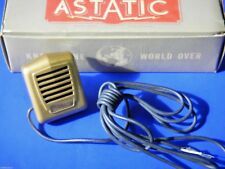 Vintage Astatic M302 Microphone 1950's Era Crystal Mic - Perfect Condition NOS