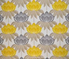 5 Meters Roma Curtain & Blinds Fabric £16.5/Mtr - Yellow