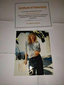 Maria Sharapova 10 x 8 Hand Signed Photo - Includes COA