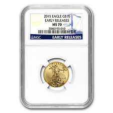 2015 1/4 oz Gold American Eagle MS-70 NGC (Early Releases) - SKU #86105