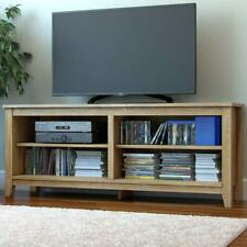 Ryan Rove Mission Wood TV Stand and Console Table Natural Wooden Color, 58 Inch