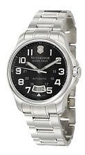 NEW Victorinox Classic Officer's Swiss Automatic ETA 2824 Bracelet Watch 241370