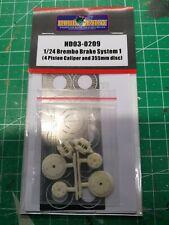 Hobby Design Detailset Bremssytem   1:24 HD03-0209