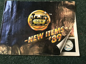 LGB New Items '89  Magazine 001989 B