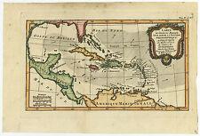 Antique Print-GULF OF MEXICO-WEST INDIES-CARIBBEAN-Bonne-c. 1780