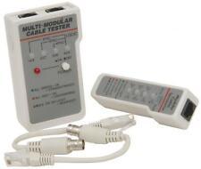 Mercury 710.285 Multi Network Cable Tester de toda la Red Y Bnc Cables adecuado