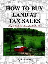 NEW How To Buy Land At Tax Sales by Pattie Edson