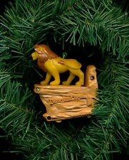 Lion King figure viewer Disneyland 40th custom theme Christmas tree ornament