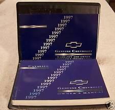 **LOOK** 1997 Chevrolet Cavalier Owners Manual Set 97