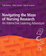 NAVIGATING THE MAZE OF NURSING RESEARCH, LIKE NEW, FREE POST + ONLINE TRACKING