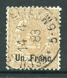 LUXEMBOURG ~ #39 Nice Used Issue Signed. Cat. 27.50