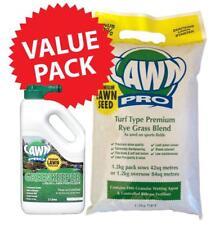 WINTER OVERSOW now: Lawn Pro Premium Rye Lawn Seed 1.2kg FREE  2lt Fertilizer