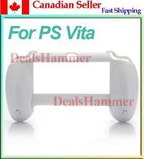 Flexible Joypad Durable Plastic Holder Hand Handle Grip for PS Vita PSV White CA