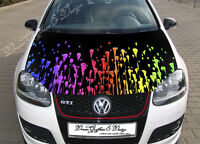 Manga Hood Full Color Graphics Adhesive Vinyl Sticker Wrap Decal Fit any Car 229