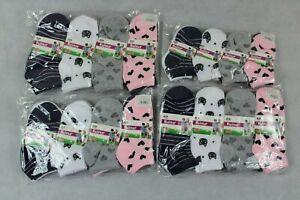 12 Paar Mädchen Sneaker Socken Gr. 23-26 / 27-30 / 31-34 / 35-38 95% Baumwolle