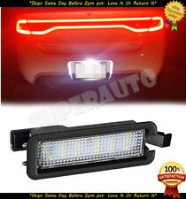Fits Dodge Charger Challenger 1pcs CLEAR LED License Plate Light Units Chrysler