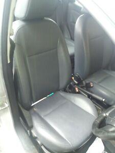 Ford fiesta ghia mk6 5dr leather seats grey/blue 2002-2008